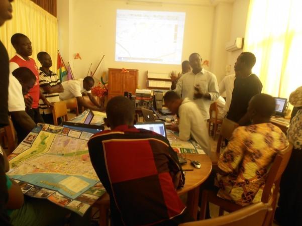 Atelier de formation à la cartographie