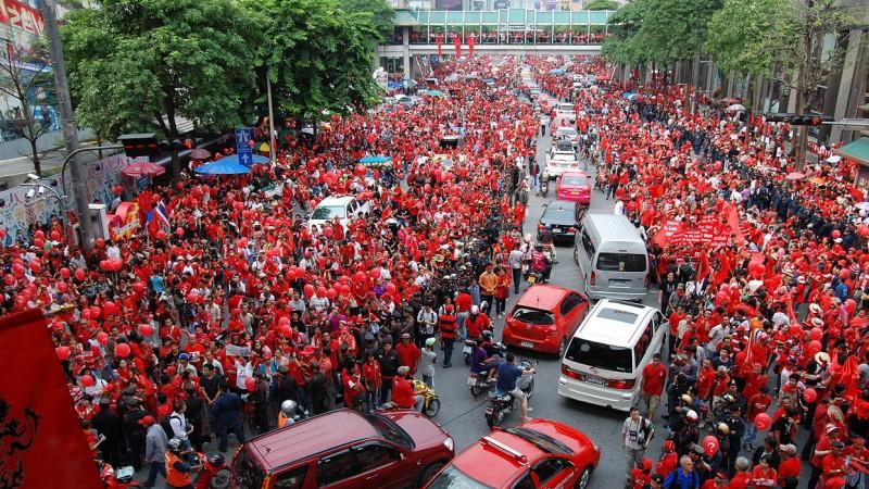 Thailande T-shirt rouge