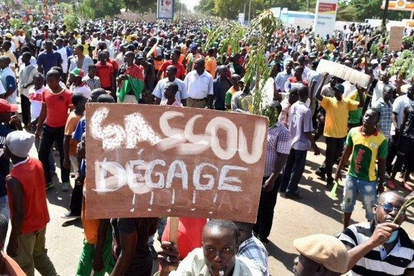 Manifestations #Sassoudegage via kabolokongo.com