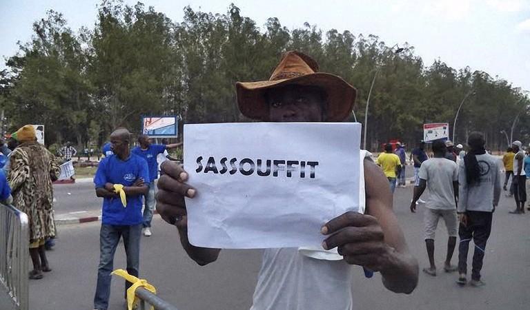 Mots clefs #sassoufit lors des manifestations contre Nguesso via canalfrance info