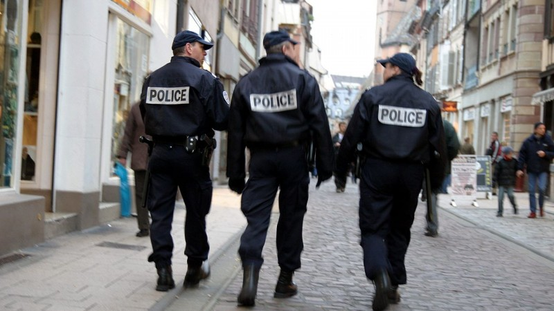 Patrouille de policiers - CC BY-SA 2.0