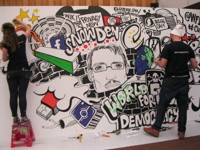 FMD 2015 art - Snowden