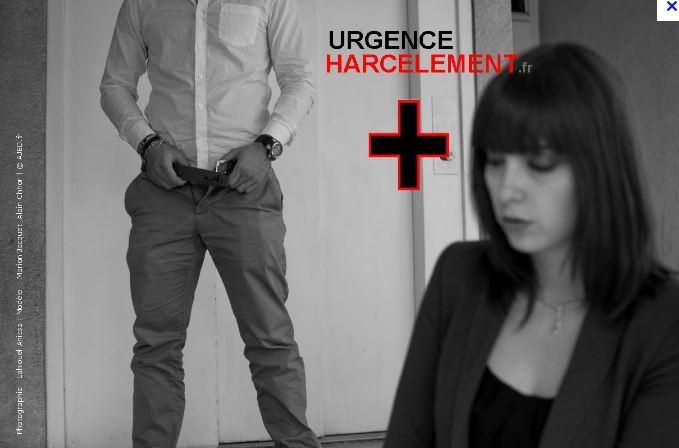 Capture d'écran de la vidéo de sensibilisation à l'harcèlement par l'association égalité en droit