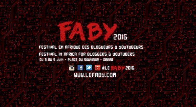 oster du Festival Africain des Blogueurs et Youtubeurs FABY via Armelle avec permission