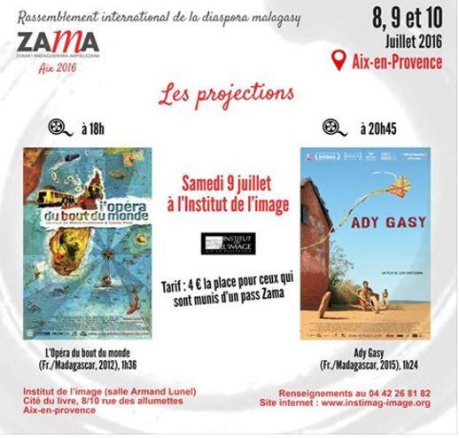 Les Projections lors de la conférence Zama