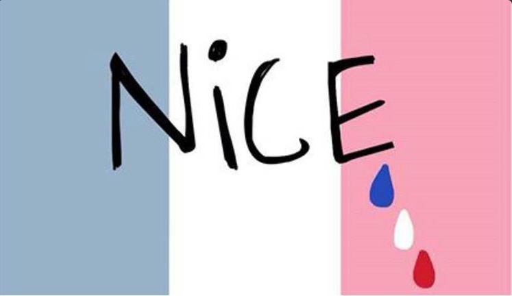 Hommage à Nice via @jeanlucr sur twitter