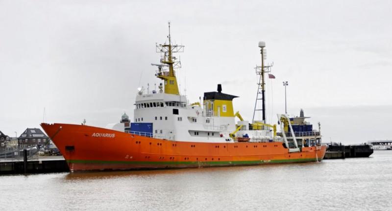Le bateau Aquarius en 2012 à Cuxhaven CC BY-SA 3.0