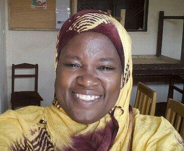 Фатумата Харбер —фотография из профиля Twitter.