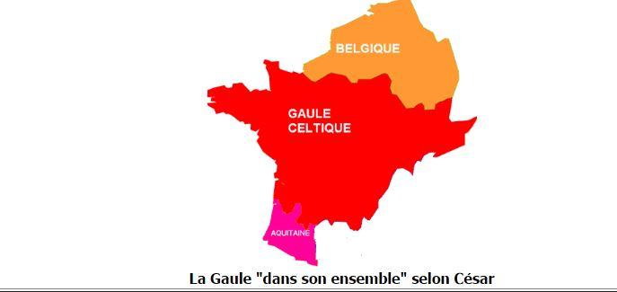 La Galia céltica según César (contreculture - dominio público)