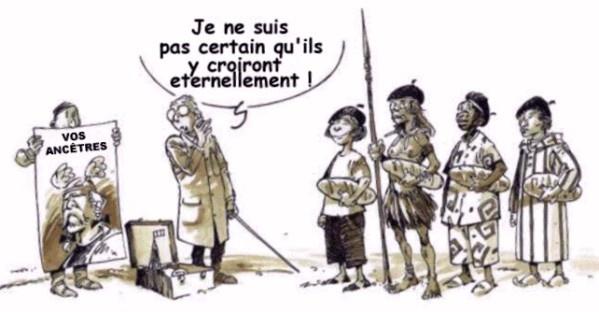 Dessin sur les ancêtres gaulois via Aimer Béthune - Domaine public