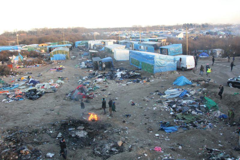 Jungla de Calais, 17 de enero de 2016