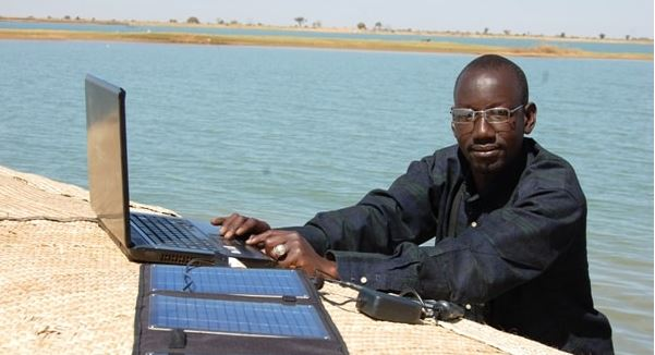 Boukary Konaté, project creator. Photo by the author