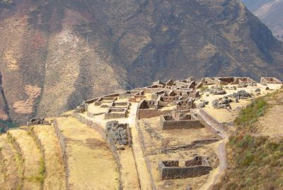 Pérou - Pisac ruines crédit : By Bcasterline at ఆంగ్లం Wikipedia - Transferred from en.wikipedia to Commons., సార్వజనీనం