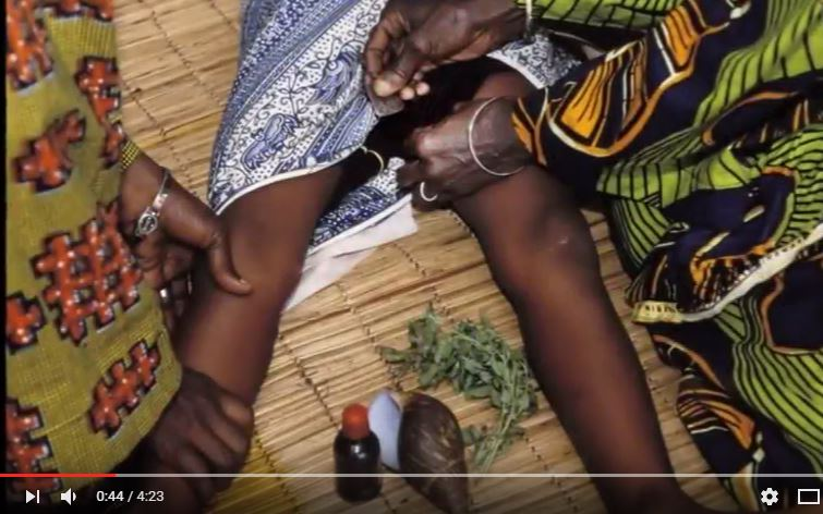"Screenshot of the ""STOP FGM"" video by Josefine Ekman"