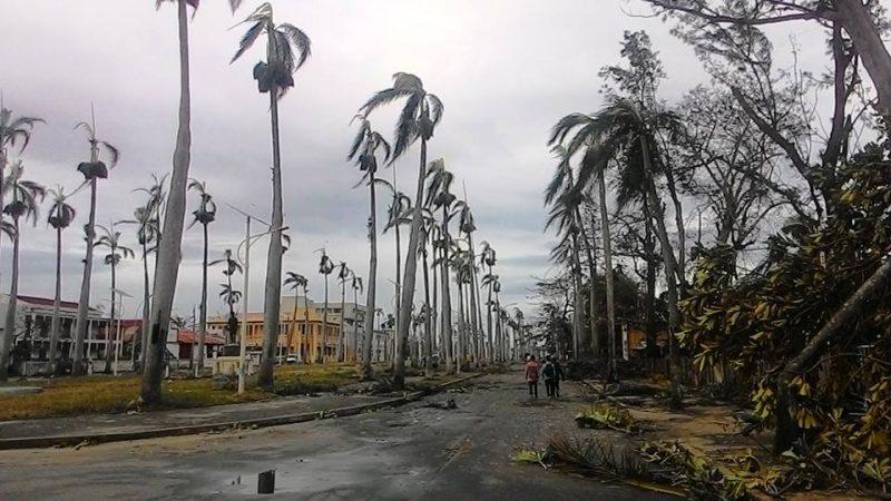 Toamasina après le cyclone Ava