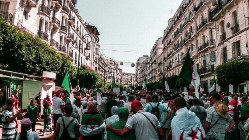 Algerian government cracks down as demonstrators protest presidential elections