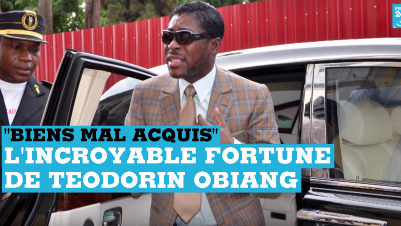 Equatorial Guinea vice president's supercars seized to fund development programs